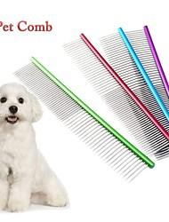 Недорогие -Собаки / Коты Уход Расчески Компактность Красный / Зеленый / Синий