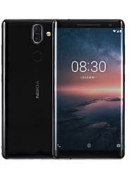 "abordables -NOKIA Nokia 8 Sirocco 5.5 pouce "" Smartphone 4G ( 6GB + 128GB 12 mp / 13 mp Qualcomm Snapdragon 835 3260 mAh mAh ) / 2560x1440"