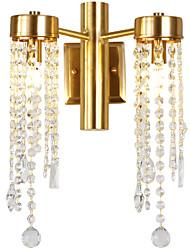 abordables -ZHISHU Mini Estilo / Nuevo diseño Tiffany / Simple Lámparas de pared Sala de estar / Dormitorio / Comedor Metal Luz de pared 110-120V / 220-240V 5 W