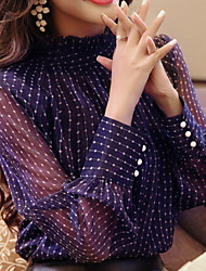 abordables -camisa de mujer - cuello redondo de color sólido