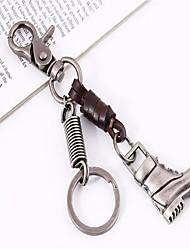 Недорогие -Брелок Высокий каблук Винтаж Мода Модные кольца Бижутерия Серебряный Назначение Повседневные Свидание