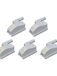 economico -BRELONG® 5 pezzi Night Light LED Luce fredda Altre batterie alimentate Decorativo / Credenza / Armadio <5 V