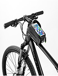 cheap -ROCKBROS Cell Phone Bag / Bike Frame Bag 6 inch Waterproof Cycling for Cycling / All Phones / Other Similar Size Phones Black