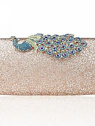 baratos -Mulheres Bolsas Liga Bolsa de Festa Botões / Purpurina Prata / Rosa / Azul Céu