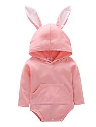 povoljno -Dijete Djevojčice Rabbit Jednobojni Dugih rukava Jednodijelno