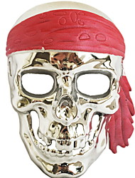 cheap -Holiday Decorations Halloween Decorations Halloween Masks / Halloween Entertaining Decorative / Cool Gold 1pc