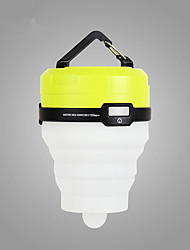 cheap -BSwolf Lanterns & Tent Lights LED with USB Cable Portable Green / Yellow Camping / Hiking / Caving