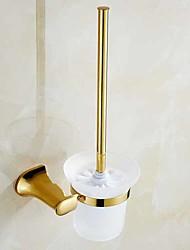 Недорогие -Держатель для ёршика Новый дизайн / Cool Современный Латунь 1шт Держатели для туалетной щетки На стену