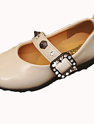 economico -Da ragazza Scarpe PU (Poliuretano) Autunno inverno Scarpe da cerimonia per bambine Ballerine Footing Fibbia per Bambino Nero / Beige / Cammello