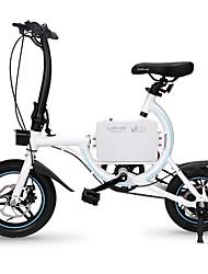 abordables -Bicicletas Eléctricas Ciclismo 12 pulgadas / 14 pulgadas Doble Disco de Freno Doblez Aluminum Alloy