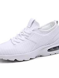 Недорогие -Муж. Полиуретан / Эластичная ткань Лето Удобная обувь Спортивная обувь Беговая обувь Белый / Черный / Красный