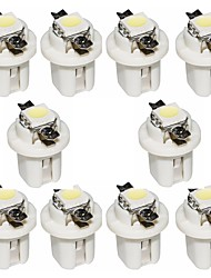 billiga -otolampara 10 bitar b8.3 5050 1smd 6000k ledd vit färg bil instrumentpanel ljusinstrument lampa