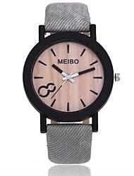 cheap -Men's Women's Dress Watch Wrist Watch Quartz New Design Casual Watch PU Band Analog Casual Fashion Black / Brown / Grey - Coffee Brown Gold / Brown One Year Battery Life