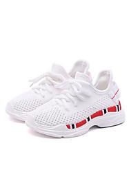 Недорогие -Мальчики / Девочки Обувь Сетка Лето Удобная обувь Спортивная обувь Для прогулок В клетку для Дети Белый / Черный