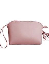 cheap -Women's Bags PU(Polyurethane) Mobile Phone Bag Zipper / Tassel Blushing Pink / Light Grey / Sky Blue