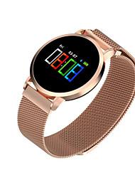 abordables -Montre Smart Watch F1 pro pour Android iOS Bluetooth Sportif Imperméable Moniteur de Fréquence Cardiaque Mesure de la pression sanguine Ecran Tactile Podomètre Moniteur d'Activité Moniteur de Sommeil