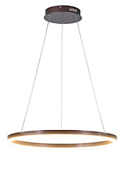 cheap -36W Modern Coffee Metal Simplicity Acrylic LED Pendant Lights Indoor Light For Office Living Room Bedroom Restaurant