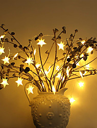Недорогие -zdm 1pc 5m 50 leds star light fairy string light для дома для дома свадьбы семейная школа вечеринка usb 5v рождественские огни новые товары