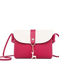 cheap -Women's Bags PU(Polyurethane) Mobile Phone Bag Zipper Blushing Pink / Gray / Fuchsia
