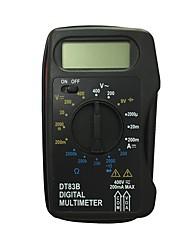 Недорогие -dt83b lcd портативный цифровой мультиметр, используемый для дома и автомобиля