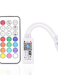 baratos -ZDM® 1pç SMD 3528 / SMD 5050 Smart / sem fio / Acessório de lâmpada Controlador RGB Plástico e metal para luz de tira conduzida do RGB 180 W
