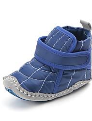 levne -Chlapecké Boty Bavlna Zima / Podzim zima Botky pro novorozence / Módní obuv Boty Kouzelná páska pro Děti Černá / Modrá / Party