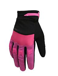 Недорогие -Спортивные перчатки Перчатки для велосипедистов / Перчатки для сенсорного экрана Сохраняет тепло / Противозаносный / Дышащий холст Шоссейные велосипеды / Велосипедный спорт / Велоспорт Муж.