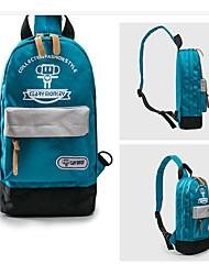 baratos -Mulheres Bolsas PU Sling sacos de ombro Bloco de Cor Vermelho / Azul Escuro / Cinzento Claro