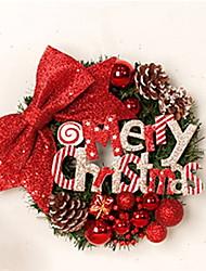 baratos -Natal Férias PVC Redonda Novidades Decoração de Natal