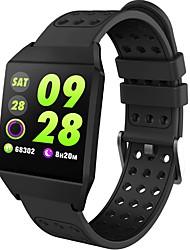 billige -Smart Armbånd W1 for Android 4.4 og iOS 8.0 eller nyere Pulsmåler / Vandtæt / Blodtryksmåling / Brændte kalorier / Træningslog Skridtæller / Samtalepåmindelse / Sleeptracker / Stillesiddende Reminder