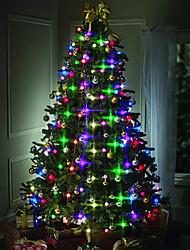Недорогие -HKV 1,5 м Гирлянды 48 светодиоды RGB Для вечеринок / Новогоднее украшение для свадьбы 220-240 V 1шт