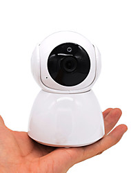 billiga -hqcam® hd 1080p inomhus hem wifi dome ip kamera v380 trådlös baby monitor h.265 ir pan tilt cctv kamera minnesplats