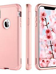 Недорогие -BENTOBEN Кейс для Назначение Apple iPhone XR / iPhone XS Max Защита от удара Чехол Однотонный Твердый ТПУ / ПК для iPhone XR / iPhone XS Max