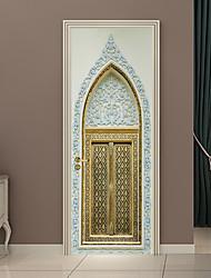 baratos -Porta Adesivos - Autocolantes 3D para Parede Abstrato / Religioso Sala de Estar / Quarto