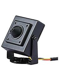 abordables -HD ahd 2.0mp étoile mini cctv moniteur vidéo noir en métal carré caméra de sécurité 3.7mm taille de la lentille 34mm * 34mm
