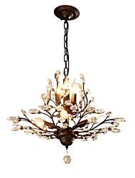 Недорогие -JLYLITE 7-Light промышленные Люстры и лампы Рассеянное освещение Окрашенные отделки Металл Мини 110-120Вольт / 220-240Вольт Лампочки не включены / E12 / E14