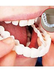 abordables -blanchiment des dents dentition simulation accolades parfait confort ajustement flex dents prothèses dentaires outils de beauté