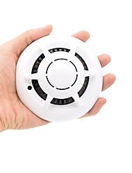 abordables -hqcam® caméra sans fil détecteur de fumée caméscope sécurité enregistreur dvr p2p pour iphone ipad android