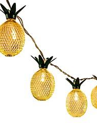 Недорогие -1pc 1.5m led string lights для гавайской вечеринки diy украшение падают 10шт ананасовые шнурки для вечеринки на день рождения