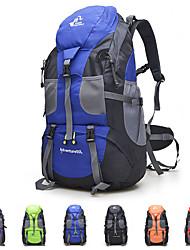 Недорогие -50 L Рюкзаки - Легкость, 3D-панель, Пригодно для носки На открытом воздухе Рыбалка, Пешеходный туризм, Походы Оксфорд Красный, Зеленый, Синий