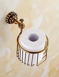Недорогие -Держатель для туалетной бумаги Новый дизайн / Cool Modern Латунь 1шт Держатели для туалетной бумаги На стену