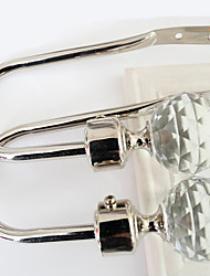 baratos -Curtain Accessories  Metal Ganchos de Parede Metal 2pcs