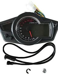 baratos -C-0015 Motocicleta Hodômetro / Medidor de óleo / Velocímetro para motocicletas Todos os Anos Calibre taquímetro