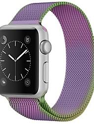 Недорогие -Нержавеющая сталь Ремешок для часов Ремень для Apple Watch Series 3 / 2 / 1 Фиолетовый 23см / 9 дюйма 2.1cm / 0.83 дюймы