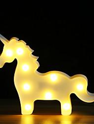 abordables -brelong 3d décoration de chambre enfants nuit lumière noël mariage décoratif - licorne