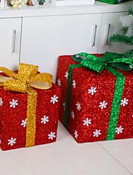 Недорогие -Орнаменты / Подарки Праздник PVC Для вечеринок Рождественские украшения