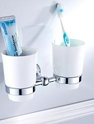 Недорогие -Держатель для зубных щеток Новый дизайн Современный Латунь 1шт На стену
