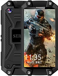 "economico -SERVO J5+ Waterproof Phone. 2.5 pollice "" Cellulare ( 1GB + 8GB 5 mp MediaTek 6580A 1050 mAh mAh )"