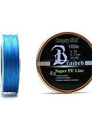 baratos -100M / 110 Yards Linha Traçada PE / Dyneema Linhas de Pesca 80LB / 10LB 0.1-0.5 mm mm Para Pesca Geral
