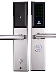 baratos -Factory OEM Aço Inoxidável Bloqueio Inteligente Segurança Doméstica Inteligente iOS / Android Sistema RFID / Consulta de registro aberto / Configurações de código de segurança aleatórias Casa